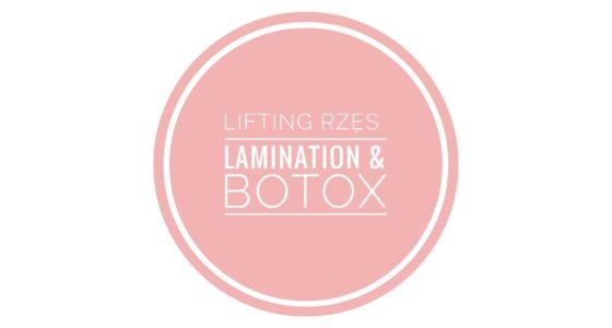 Laminowanie i botox rzęs
